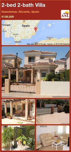 2-bed 2-bath Villa in Guardamar, Alicante, Spain ►€136,000 #PropertyForSaleInSpain