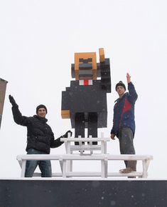 """Minecraftolution 2017"": Cubed Vladimir Lenin Appears In Russian City Of Krasnoyarsk  Cardboard statue of famous communist leader erected by art collective.  The Russian city of Krasnoyarsk has a new monument, and it's causing a bit ... https://drwong.live/weird/minecraftolution-2017-cubed-vladimir-lenin-appears-in-russian-city-of-krasnoyarsk/"
