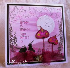 In the pink with Lavinia stamps Make beautiful cards and gifts using a unique range of clear stamps, created by Tracey Dutton from Lavinia Stamps. Magical mystical and Floral images, which include a wonderful range of silhouette Fairies