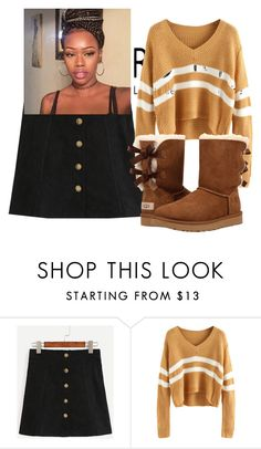 """Mind on Money"" by ashantisowell on Polyvore featuring UGG Australia"