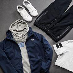 Sundaze. Sweatwear is the national uniform of today. #jackandjones #menswear #athleisure #sweatwear #urbanwear #streetstyle #weekendlook #outfit