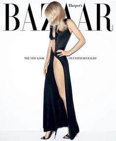 Gwyneth Paltrow, photographed by Terry Richardson, shows off her gorgeous figure on the March 2012 cover of Harper's Bazaar. Gwyneth Paltrow, Harper's Bazaar, Vogue, Chris Martin, Provocateur, Mode Editorials, Fashion Editorials, Models, Editorial Fashion