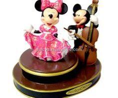 Mickey & Minnie music box