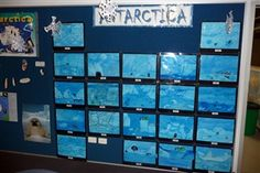 Antarctica Bulletin Boards for the Classroom