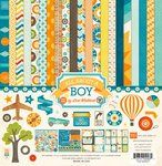 Echo Park - All About a Boy - 12 x 12 Collection Kit