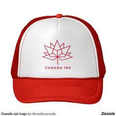 Canada 150 Logo Trucker Hat