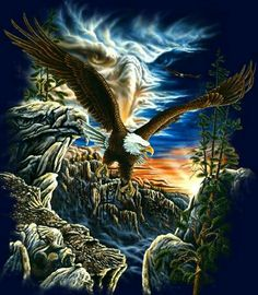 Try to find out all the Eagles in this picture. Got confused with the pictures uff. here are 7 eagles in this very cool illusion painting The Eagles, Bald Eagles, Eagle Images, Eagle Pictures, Illusion Kunst, Illusion Art, Native Art, Native American Art, Beautiful Artwork