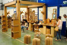 La Cartonería en la Feria de Artesanía de Barbastro