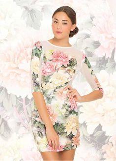 Hermoso vestido floreado