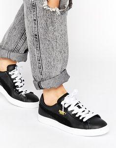 Puma Basket Classic Black Sneakers