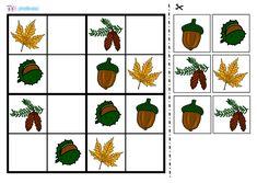 E-předškoláci - Podzim s Lístkovou vílou Autumn, Fall, Christmas Diy, Diners, Flowers, Cards, Puzzle, Daycare Ideas, Autism