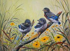 bird painting - Google Search