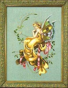 The Woodland Fairy by Mirabilia - Cross Stitch Kits & Patterns