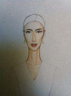 Half done#Bridal#Drawing