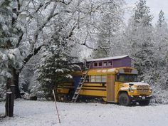 Unique School Bus House - $5800