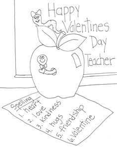 A Valentine for the Teacher  -- a free product for just 1 day.
