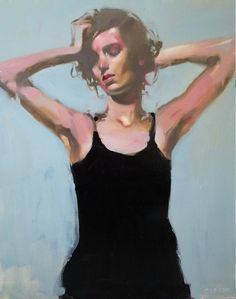 michael carson...he beautifully mixes flat surfaces with 3d in his work.