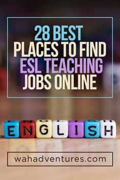 A comprehensive list of the best online websites to teach English, taking into consideration some factors like earnings, reputation and excellent terms.