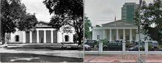 Het oudste gebouw van de Vrijmetselarij in Weltevreden Batavia. 1885, ,.,Kimia Farma, jl Budi Utomo, Jakarta,  2014