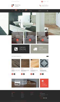 Shopify Theme , Flooring Store