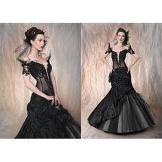 steampunk wedding dress.