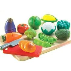 Small World Living Toys Peel 'N' Play. Vegetable & Fruit sets sold separately.