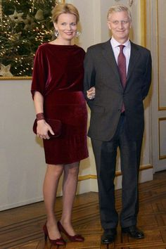 EN IMAGES. Le style de la reine Mathilde de Belgique - L'Express