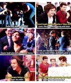 Louis' always got his baby's back