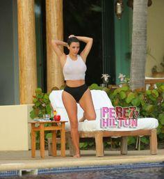 kim kardashiant mexico second honeymoon watermark