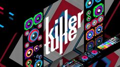 http://www.killertune.jp/  [ Killertune web ident. ] director // mugen barrier use tool // Cinema4D / After Effects