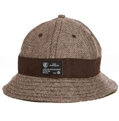 Herringbone - Men s Woven Bucket Hat 1addc4f0758