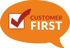 Simple Graphic Shows Customer-First Approach on it's business www.colorwhistle.com