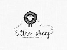 Little Sheep Logo Design Sewing Logo Fabric Logo Clothing Logo Design Kids Logo Watermark