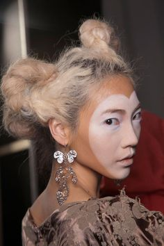 Valentine's day shoot? Beauty at Vivienne Westwood Spring / Summer 2013