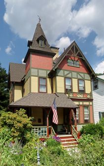 Chpt 10:1888 stick style victorian house