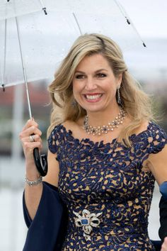 Queen Maxima attends a Gala Banquet hosted by The Government at The Opera House as part of the Celebrations of the 80th Birthdays...