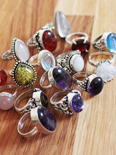 Treasure Stacking Rings (by dhop Dixi)