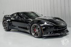 Unique Widebody Black C7 Corvette Stingray