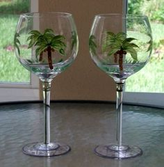 diy painted wine glasses friends - Google Search