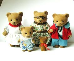 Bear Family Bärenwald by Simba 90s Childhood, Childhood Memories, Give Me Five, Good Old Times, 80s Kids, Oldies But Goodies, Ol Days, My Memory, Antique Toys