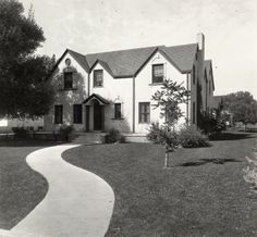 Gamma Phi Beta house. 1930. 1405 South College Ave. UHPC, University Archive, Archives and Special Collections, CSU, Fort Collins, CO