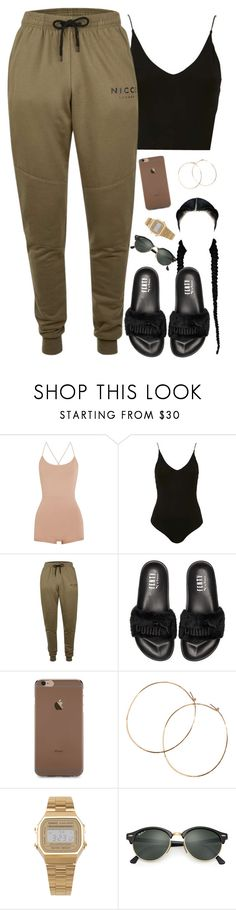 Gross by daisym0nste ❤ liked on Polyvore featuring Valentino, Topshop, Topman, Puma, Jennifer Creel, American Apparel and Ray-Ban