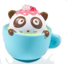SquishyFun Kawaii Squishies - Cafe Panda