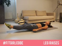 Image result for Straight leg raises gif