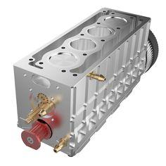 TOYAN FS-L400 14cc Inline 4 Cylinder Four-stroke Water-cooled Nitro En - EngineDIY Nitro Engine, Gasoline Engine, Rc Model, Model Car, Gear Pump, Metal Models, Inline, Rc Cars, Engineering