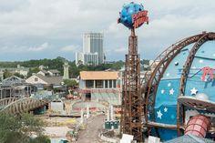 Curioso para saber como andam as obras em Disney Springs, a antiga Downtown Disney? Confira nas imagens abaixo como está...