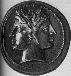 The Roman god Janus Ancient Tattoo, Digital Story, Janus, Greek Words, Feather Tattoos, Ancient Rome, Art Portfolio, Occult, Tattoo Inspiration
