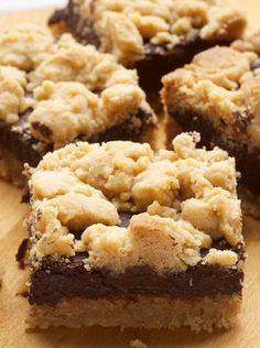 Peanut Butter Chocolate Bars http://recipesjust4u.com/peanut-butter-chocolate-bars/