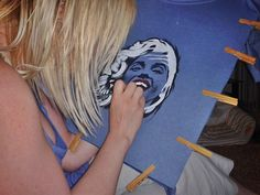 #Peintàlamain #MarilynMonroe #Idol
