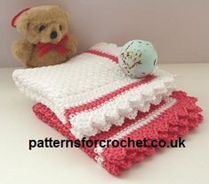 Free Baby Washcloth Crochet Pattern from http://www.patternsforcrochet.co.uk/baby-wash-cloth-usa.html #patternsforcrochet